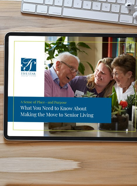 Making the Move to Senior Living – What You Need to Know ebook image