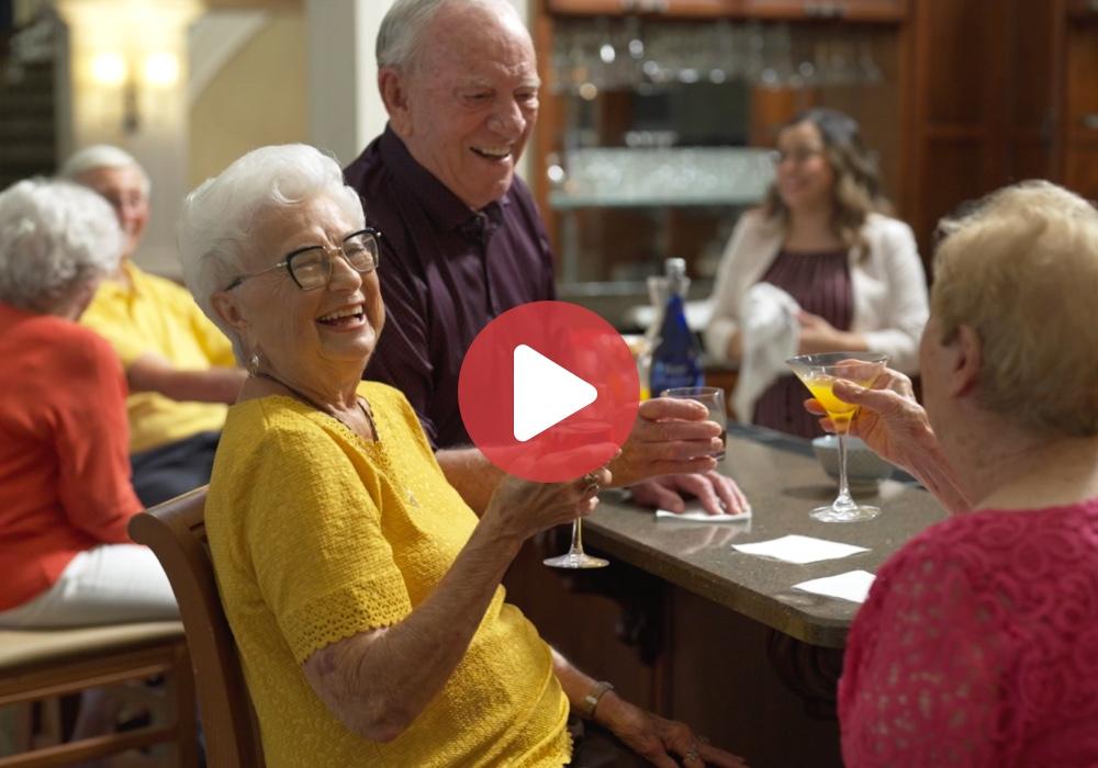 Think senior living is boring?  Think again!